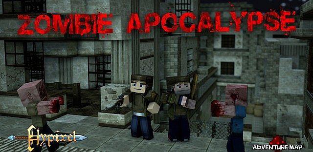 Zombie Apocalypse Survival Map 1.8 and 1.7.10 | Minecraft Maps ...