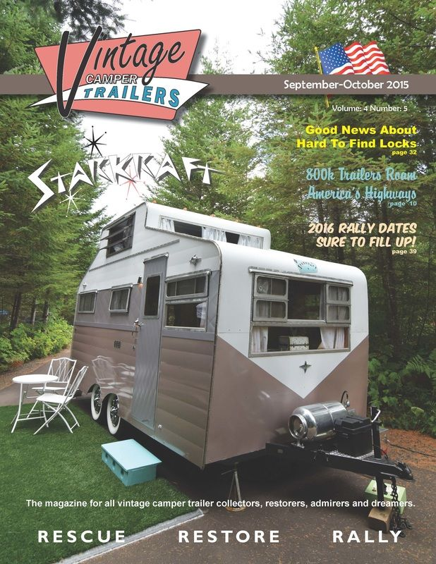Vintage Camper Trailers Magazine: For all collectors, restorers, admirers  and…