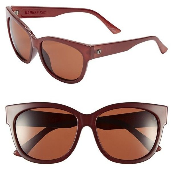 96f33486d80b Women s ELECTRIC  Danger Cat  58mm Retro Sunglasses (6.570 RUB) ❤ liked on