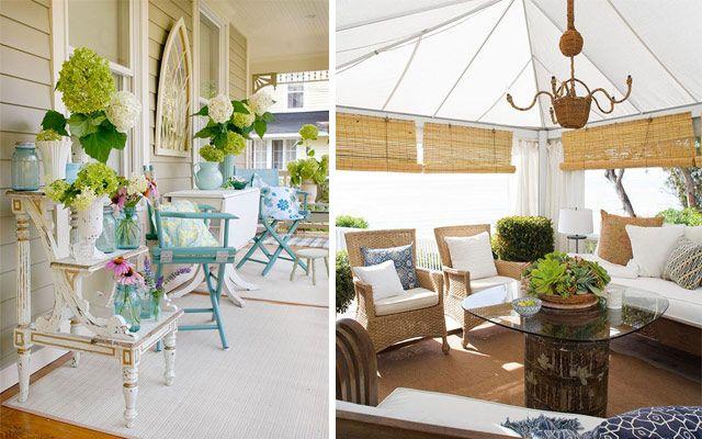 Ideas para decorar terrazas y porches amplios | exteriors ...