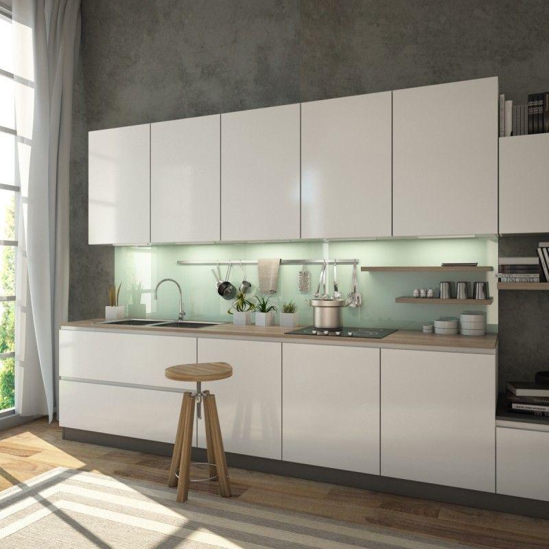 Küchenrückwand aus Glas Spritzschutz individuell