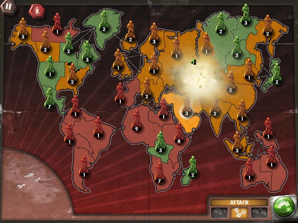 Risk Online • Play Risk Game Against Computer Unblocked
