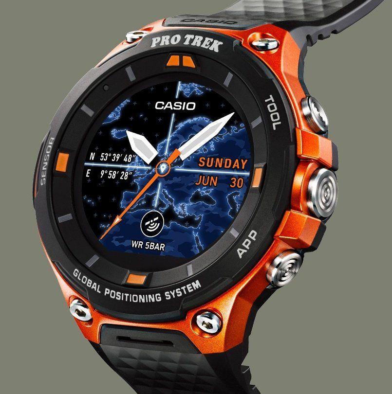 41383959401 Casio Pro Trek Smart WSD-F20 Preview