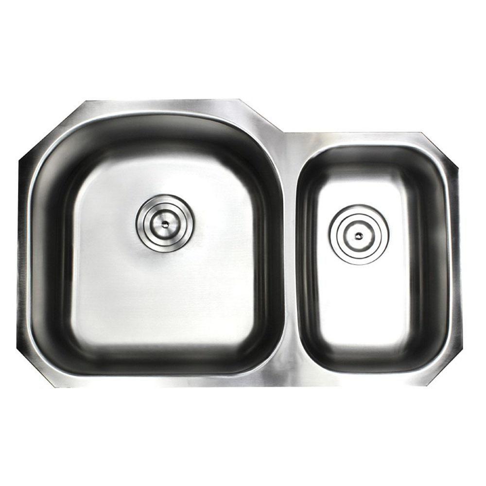 Emoderndecor Undermount Premium 16 Gauge Stainless Steel 31 1 2 In