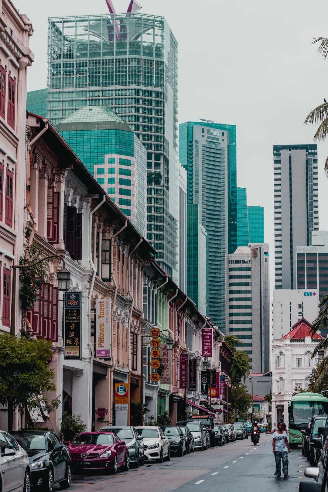 Shops And Skyscrapers Download This Photo By Lily Banse On Unsplash In 2020 Singapore Travel Asia Travel Stay In Singapore