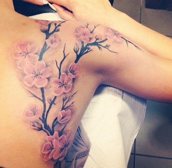 94 Cherry Blossom Tattoo Designs That Cherry Blossom Tattoo Shoulder Cherry Tree Tattoos Blossom Tattoo
