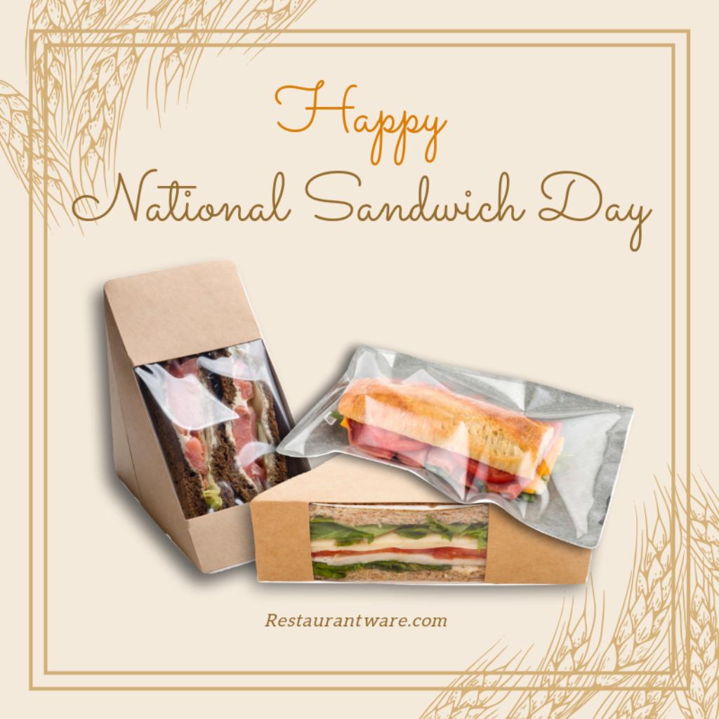 Sandwich Bakery Bread Heat Seal Bags deli