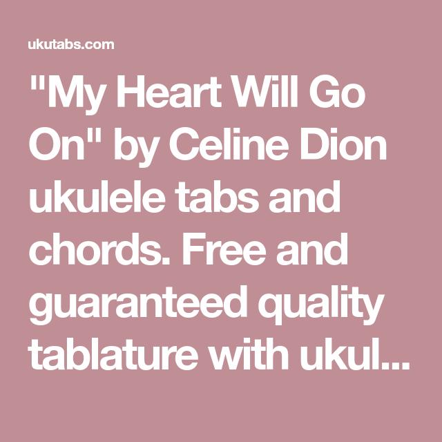 My Heart Will Go On\