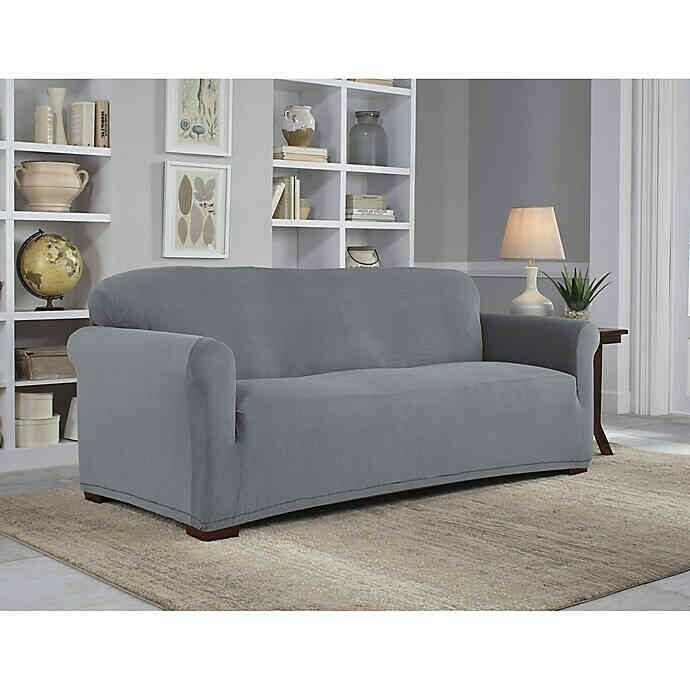 Stretch Sofa Slip Cover Perfect Fit Liquid Stain Repel Luxstretch