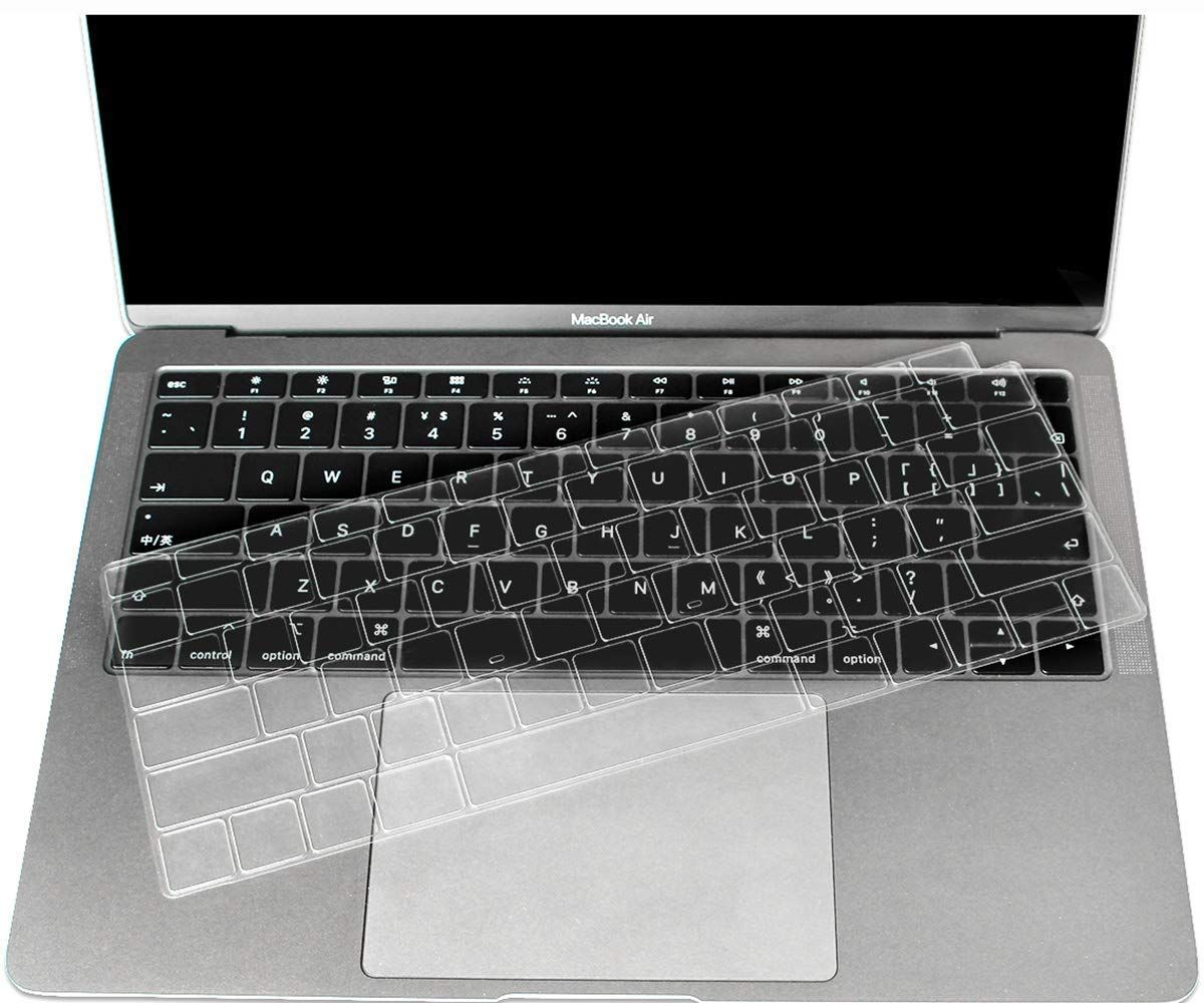 Casebuy Premium Ultra Thin Keyboard Cover Compatible Newest Macbook Air 13 Inch 2018 Release A1932 With Retina Dis Best Macbook Macbook Air 13 Inch Macbook Air