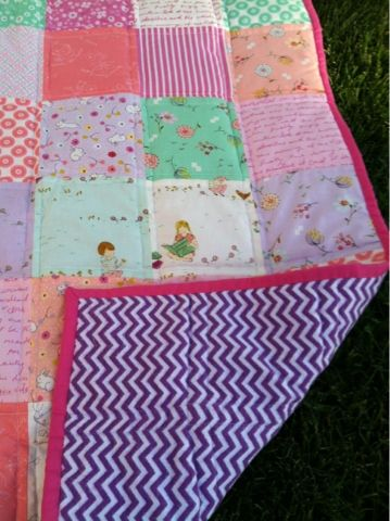 Little Bits of Everything: Baby Posey Quilt