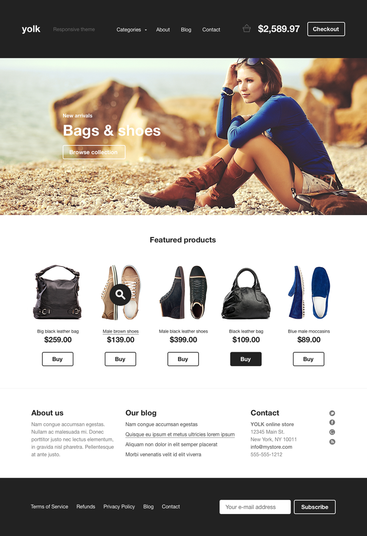 4 Ecommerce Website Design Trends To Rule In 2015 | Ecommerce ...