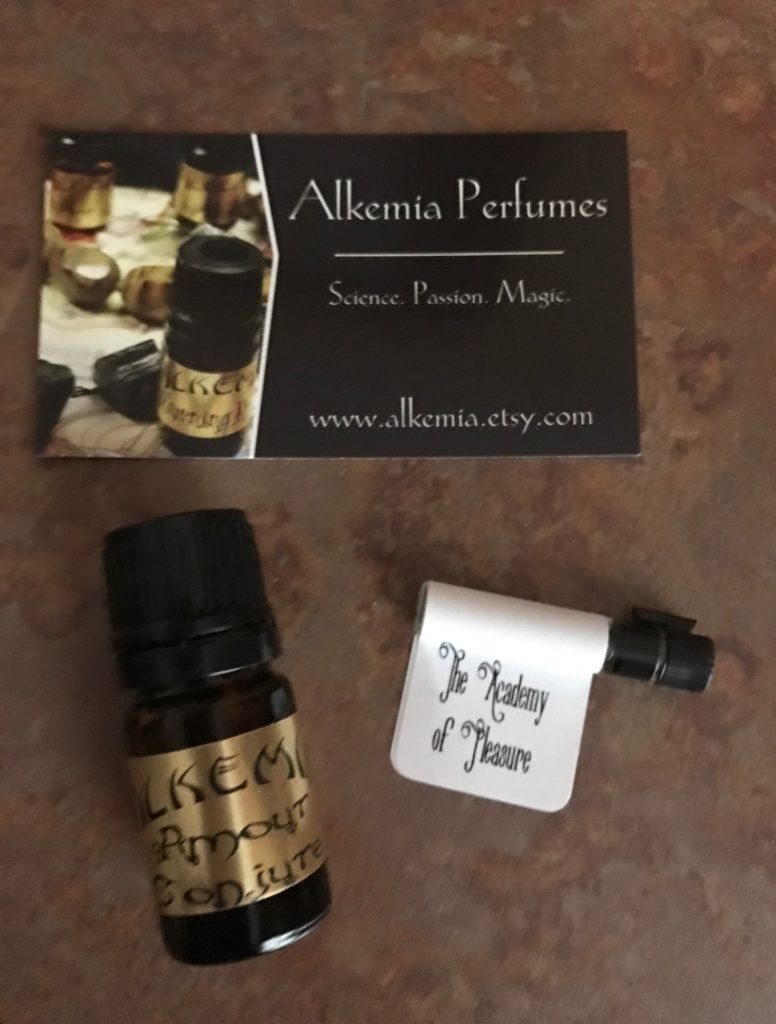 Alkemia Perfume Oil, Conjure in amber bottle, The Academy of ...