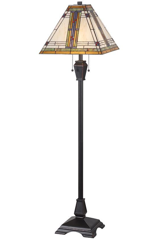 Tiffany Style Lamp Shades Magnificent Pratt Floor Lamp  Art Deco Lamps  Tiffanystyle Lamps  Stained Design Decoration