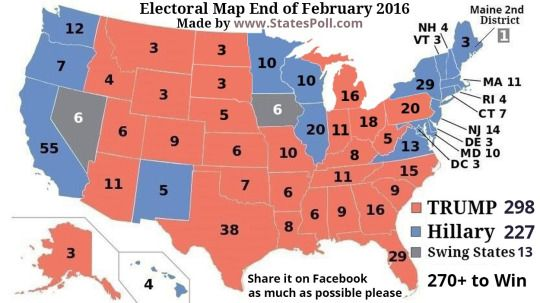 Prediction About US Presidential Election WwwStatesPollcom - Us election prediction map