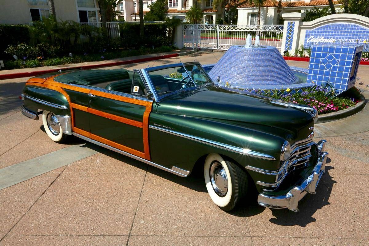 1949 Chrysler Town & Country C-46 Convertible. Maintenance ...