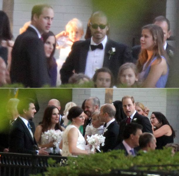 Prince William Attends Close Friend Guy Pelly S Wedding