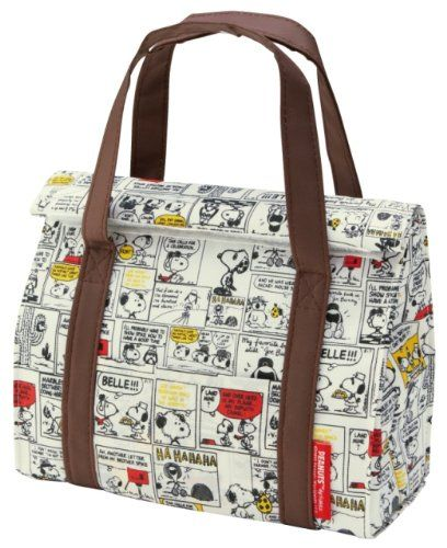 467e7da73ba7 Insulated lunch bag folding M Snoopy SNOOPY comic Skater http   www.amazon