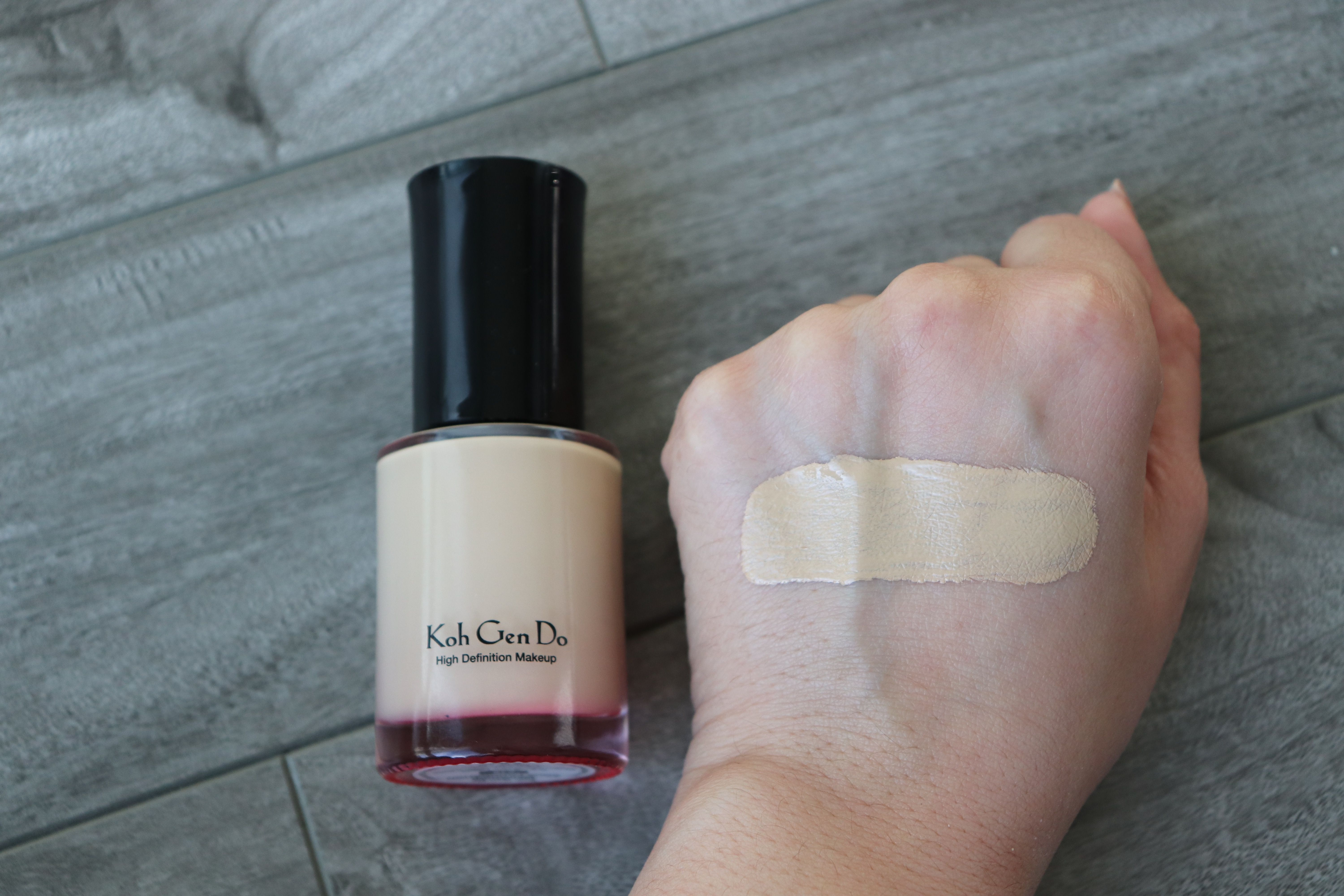 Koh Gen Do Maifanshi Aqua Foundation 213 Check Out The Blog For More Swatches And A Review Koh Gen Do Beauty Swatch