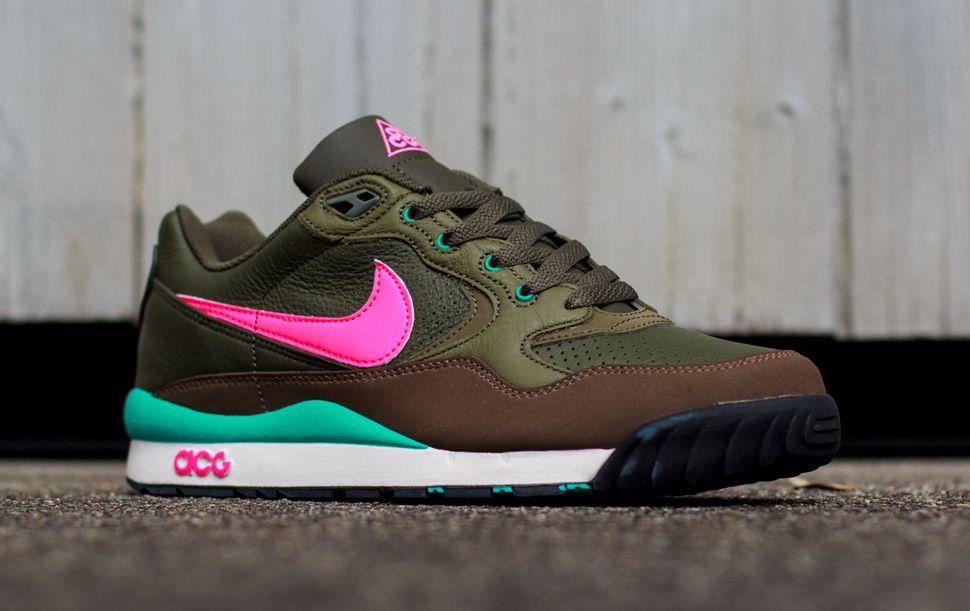 e40f9c7285e756 ... Nike ACG Wildwood Dark Olive Sneakers and Shoes Pinterest Nike acg