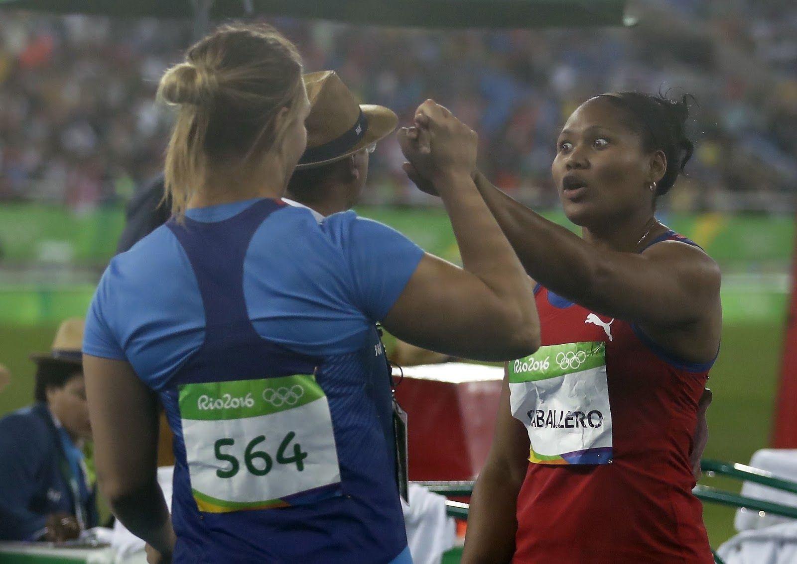 #Rio 2016: Atletismo: Cubana campeona mundial en disco femenino gana bronce qen Río http://jighinfo-rio2016.blogspot.com/2016/08/atletismo-cubana-campeona-mundial-en.html?spref=tw