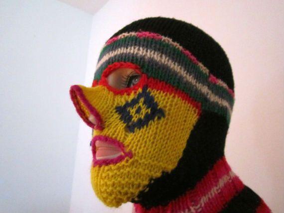 Horrifying knitted masks for Halloween | Dangerous Minds | Yarn ...