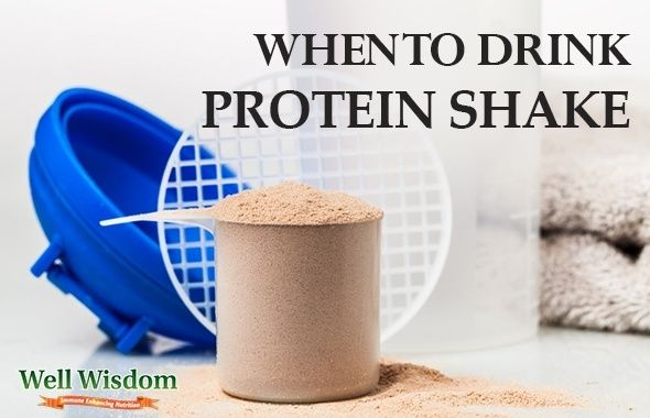 When Is The Best Time To Drink A Protein Shake Well Wisdom Protein Shakes Fitness Protein Shakes Protein Shake Smoothie