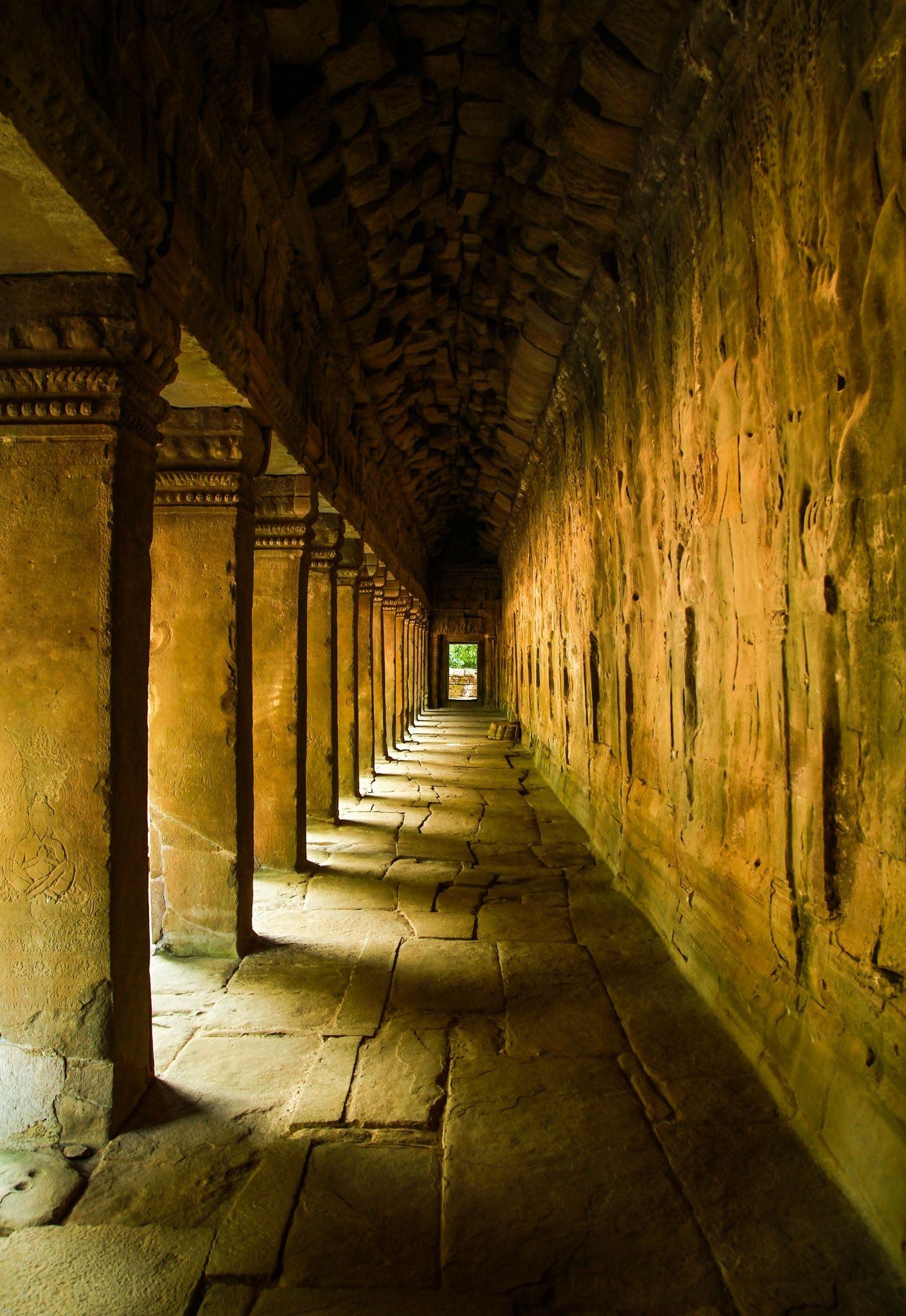 The Hallway, Angko Wat by Nam Ho©  on 500px