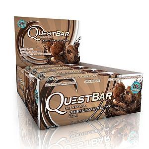 QuestBar Protein Bar - Double Chocolate Chunk