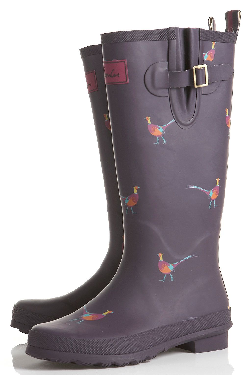 23eb6e7b0 JOULES Bird Print Wellies | ladylike | Boots, Couture shoes, Shoes