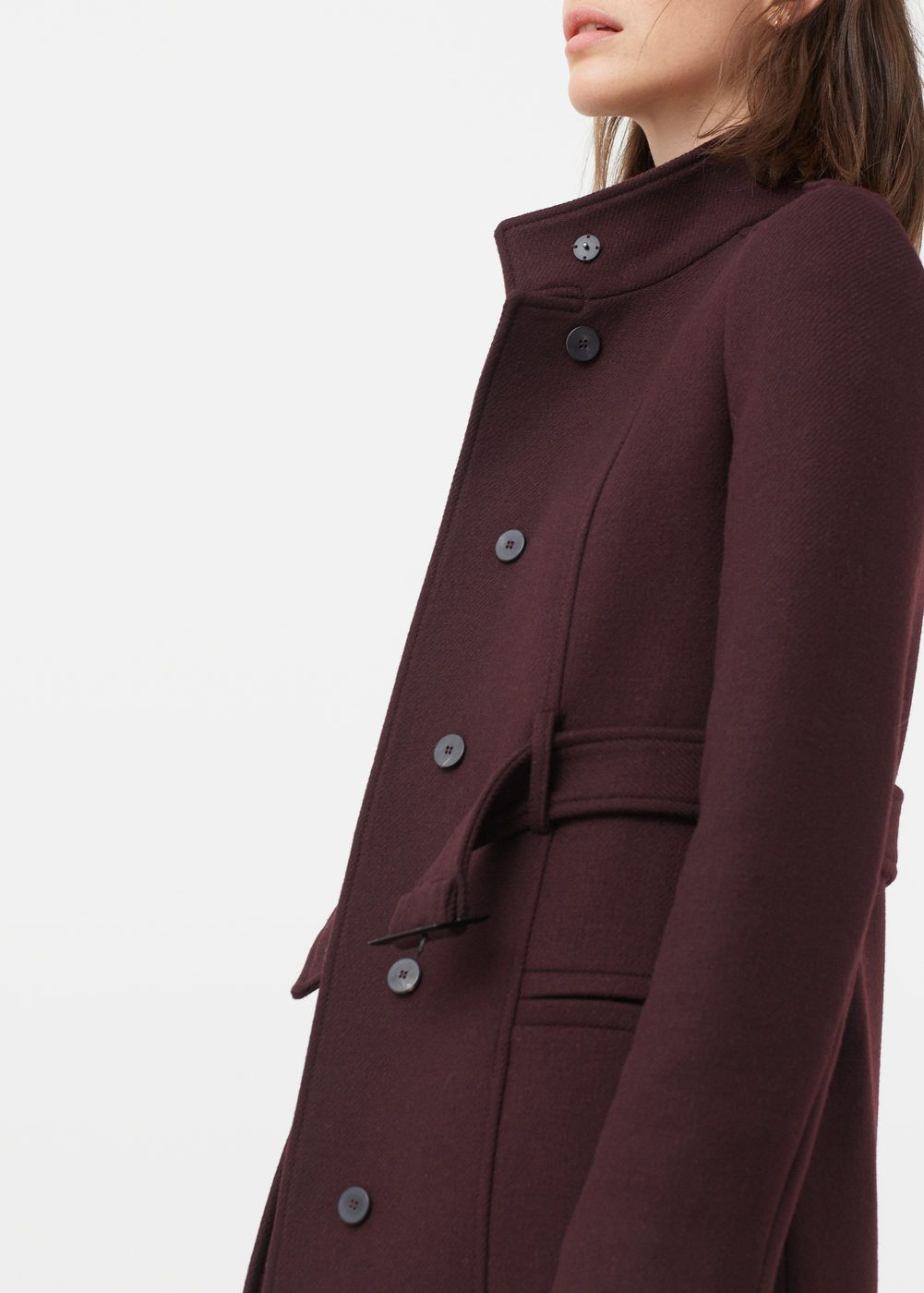 e62d172752d5 Manteau en laine avec ceinture - Femme   Coats   Belts   Pinterest ...