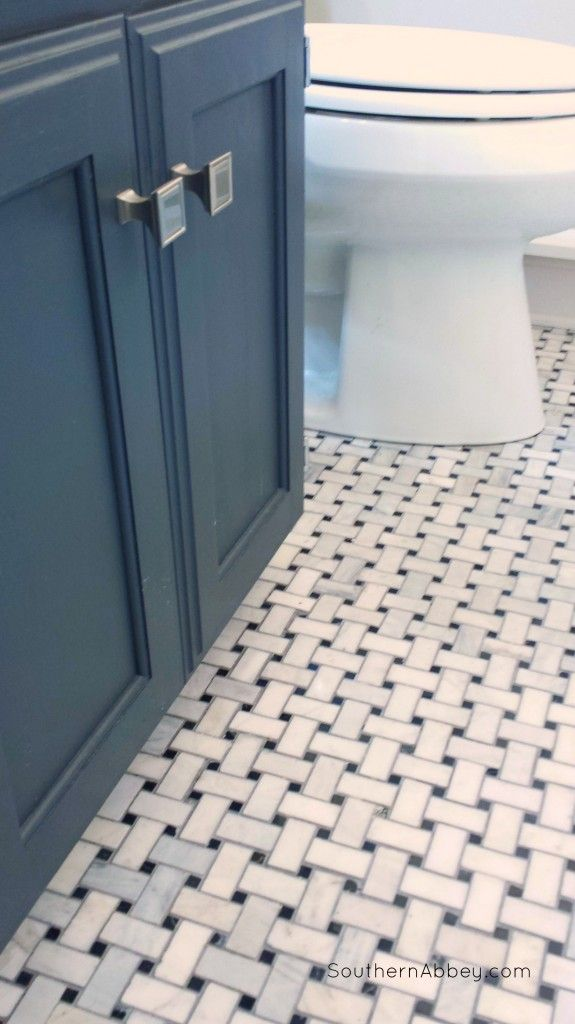 Boho Bathroom Floor Tile