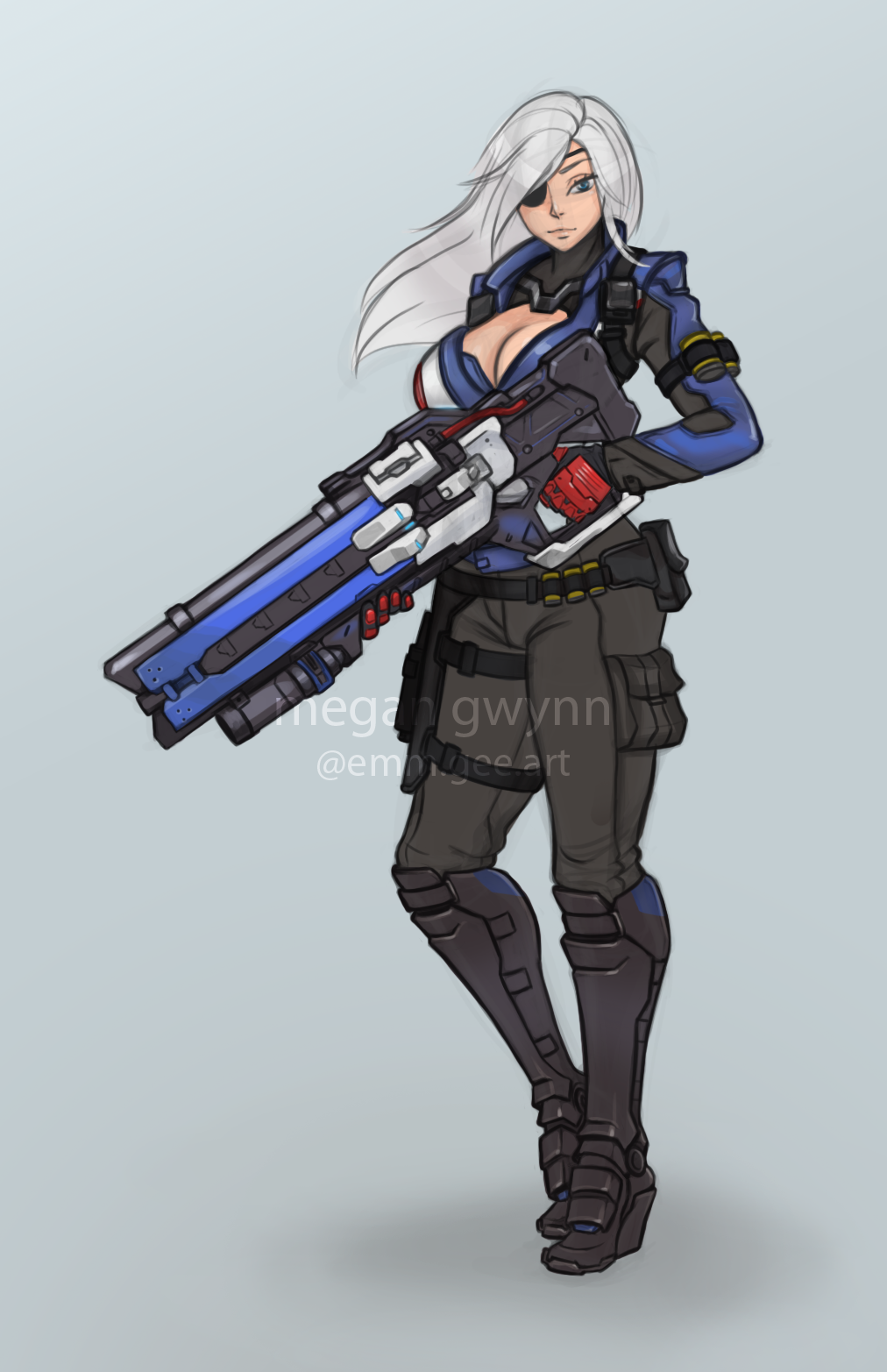 Overwatch Has Developed Quite A Fan Art Following Page 37 Neogaf Overwatch Soldier Soldier 76