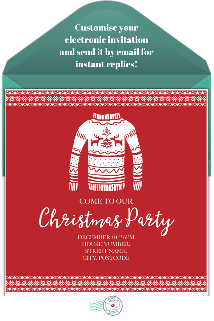Get started for FREE - send Christmas Party Invites by e mail or ...