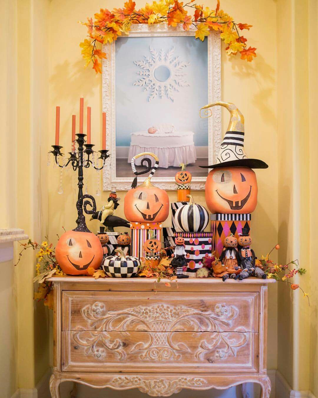 Pin by Pam Mitchell on Halloween Pinterest Halloween ideas - Pinterest Halloween Decorations