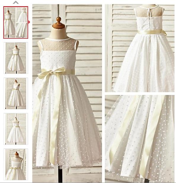 LightInTheBox Flower Girl Dresses