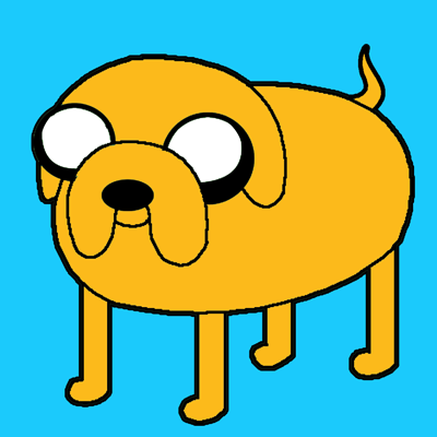 How To Draw Jake The Dog From Adventure Time On Cartoon Network With Easy Steps How To Draw Step By Step Drawing Tutorials Easy Cartoon Characters Jake The Dogs Jake