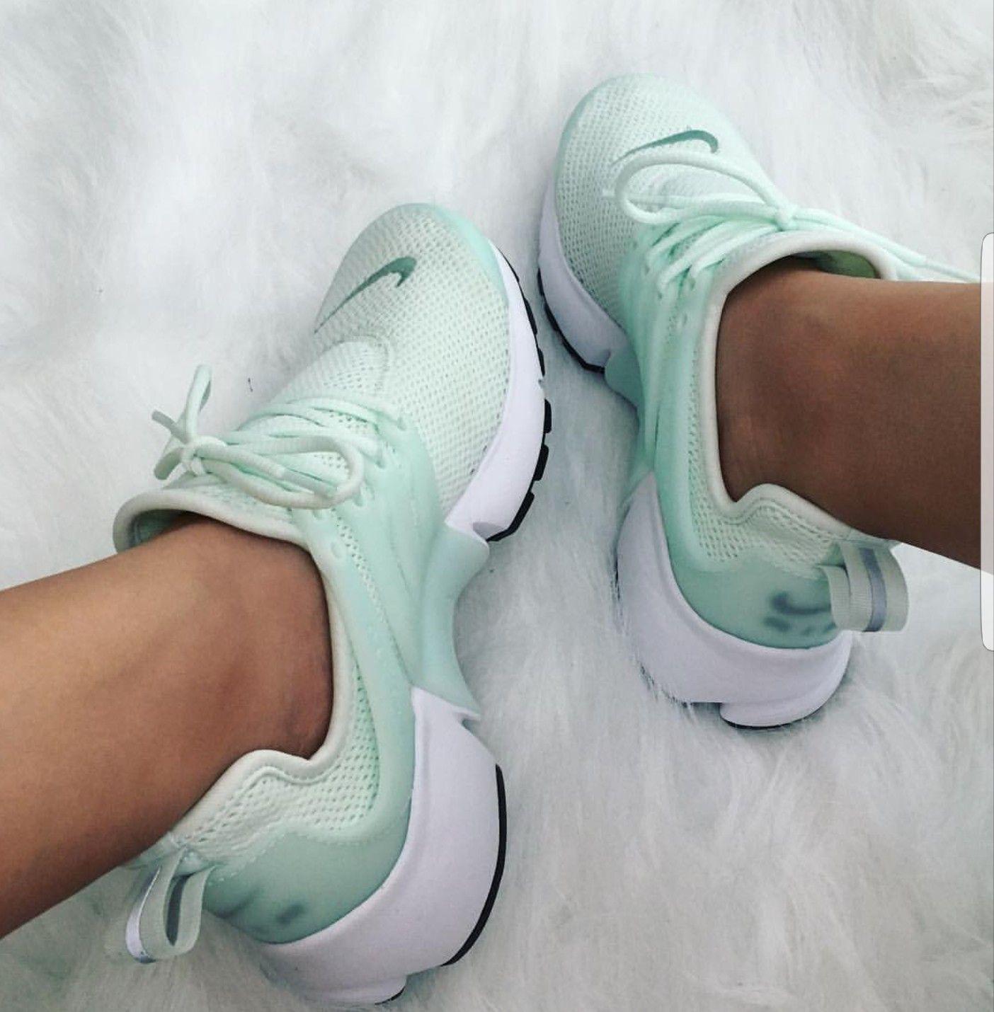 Nike Air Presto Turkis Mint Foto Von Lilseashelly Instagram Bodybuilding Shoes Hype Shoes Mint Shoes