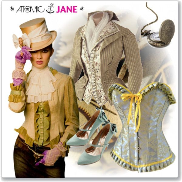 A very soft Victorian inspired look- #atomicjaneclothing