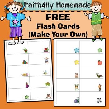 Free Editable Flash Cards I Made This To Make Spelling Word