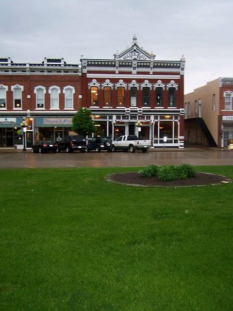 Funny how I can immediately pick out pictures of small towns in Iowa...  Albia, Iowa