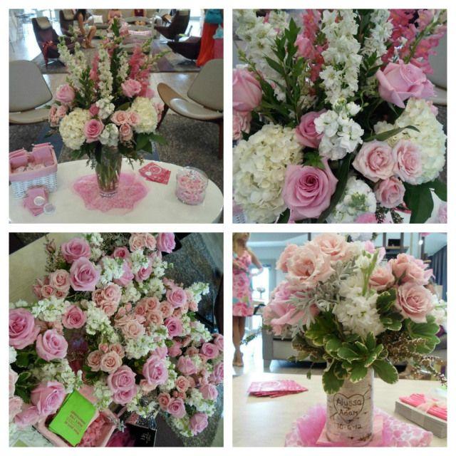 Flowers for Bridal Shower