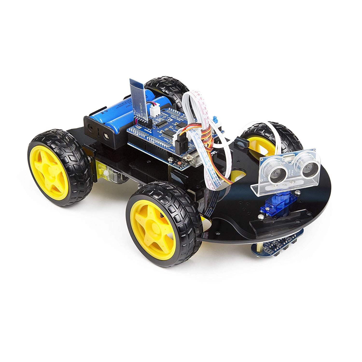 UCTRONICS Smart Bluetooth Robot Car Kit UNO R3 for