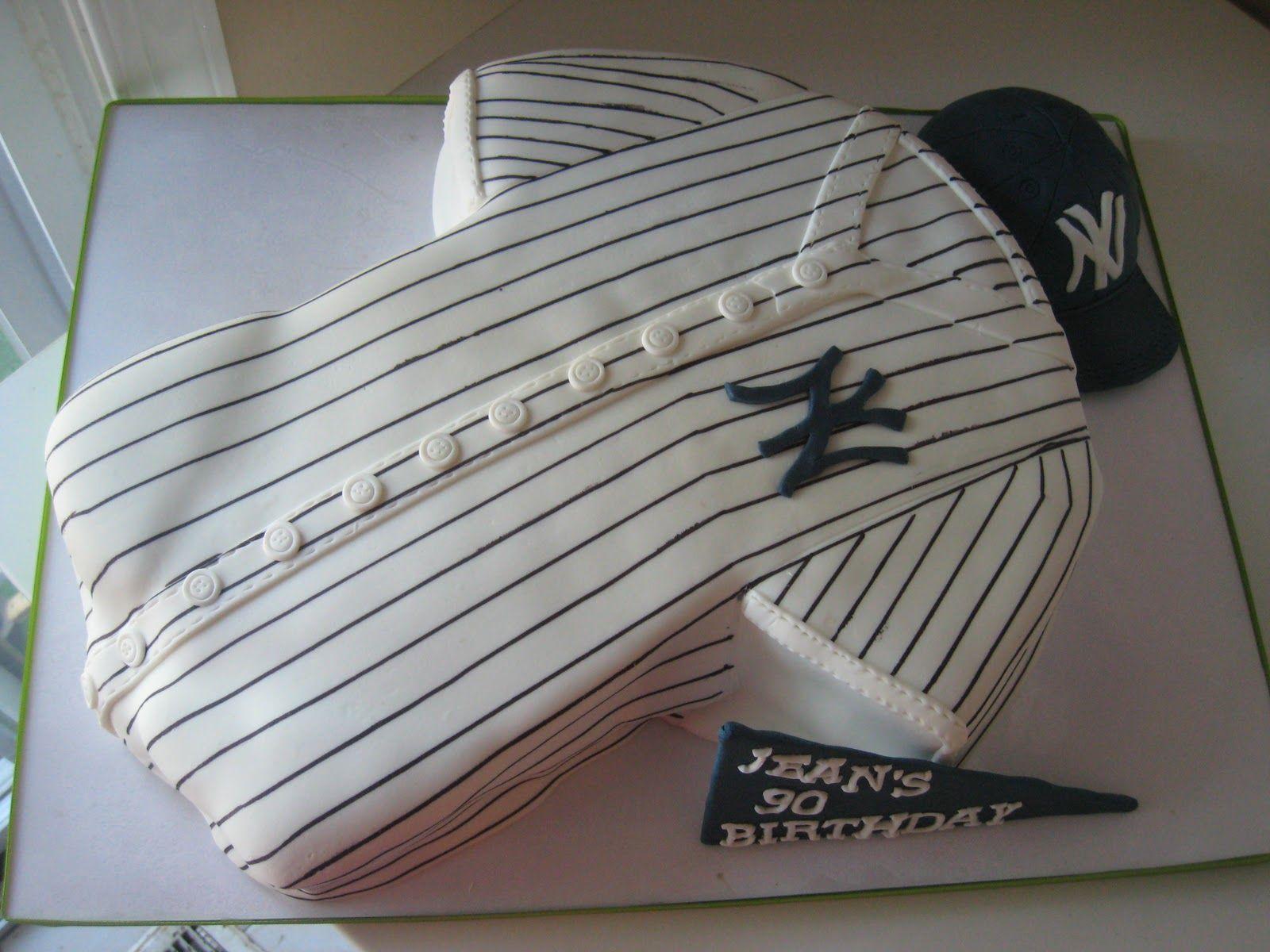 Baseball Themed Cake