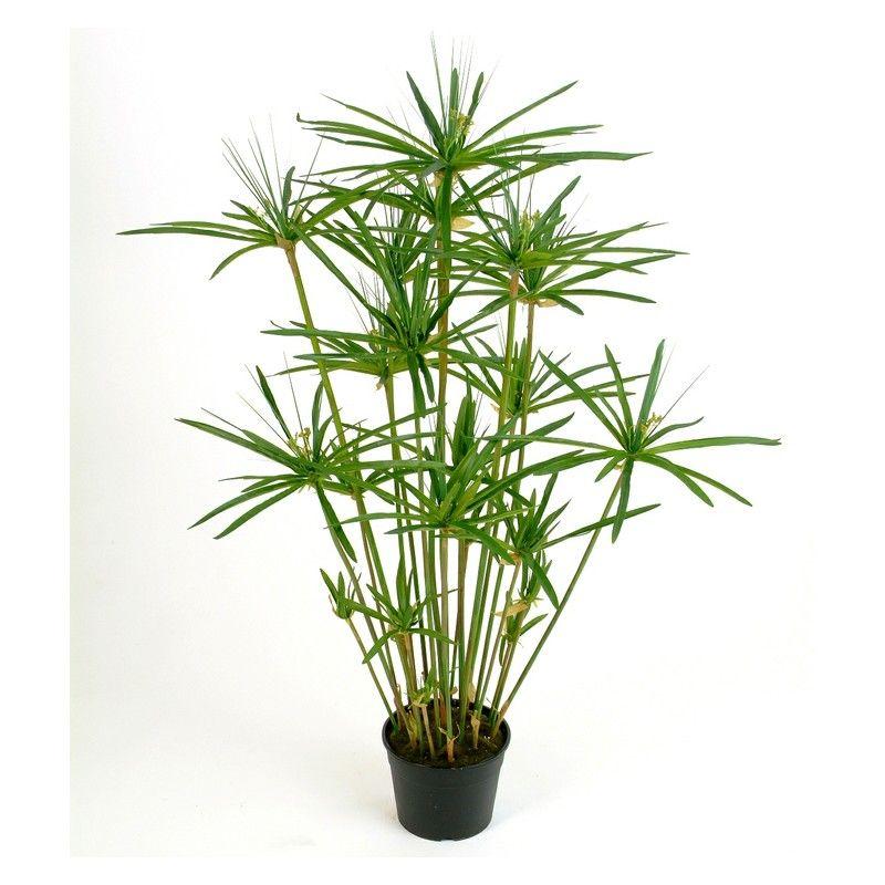 Artificial papyrus plant medium bright green