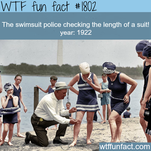 The swimsuit police -WTF fun facts