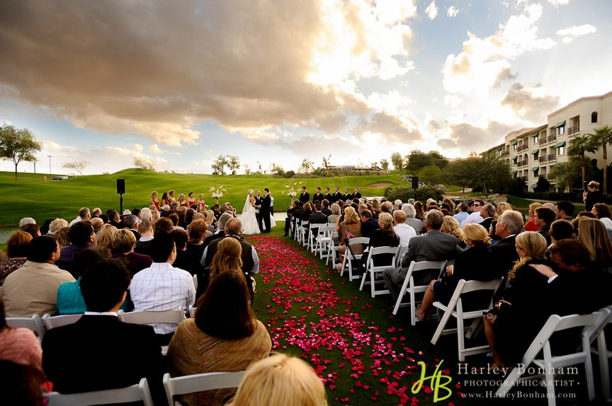 Arizona Grand Resort And Spa Beautiful Golf Course Wedding