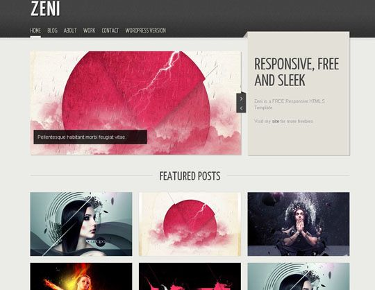 41 Totally Free Responsive Html Css Website Templates Free Portfolio Template Portfolio Template Design Css Website Templates