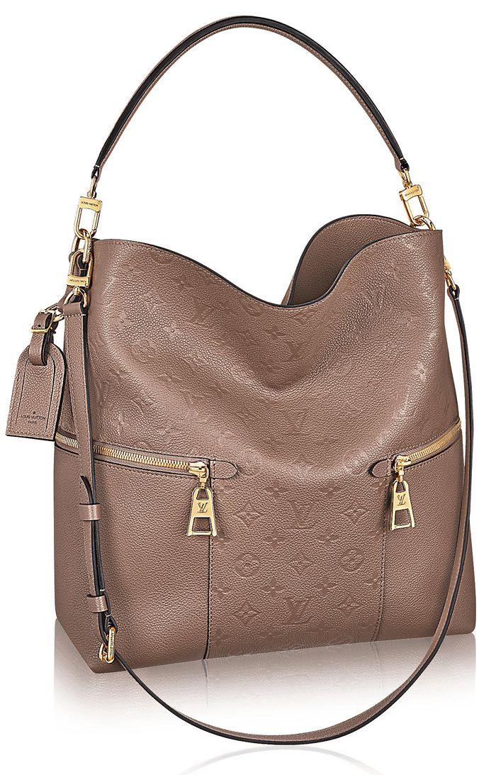 The Melie bag from Louis Vuitton is one of the newest bags that is set to  conquer the hearts of many with its fresh and modern take on the hobo design . f2bb09bc3ca0e