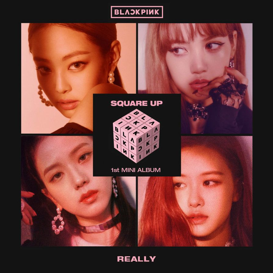 Blackpink Nghe Tải Album Blackpink: BLACKPINK Playing With Fire Album Cover By Minayeon1999 K